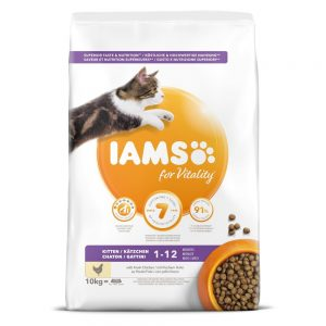 Iams for Vitality Cat Kitten Chicken (3 kg)